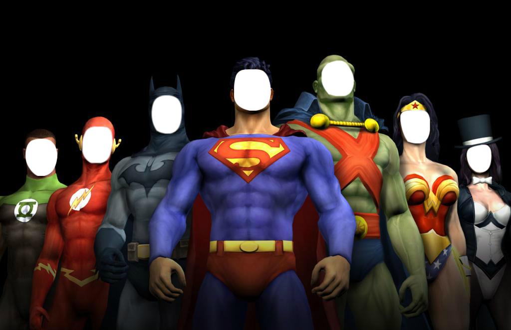 Justice League - FACEinHOLE